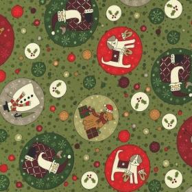 """Tela de Navidad Colección """"Festive Fun"""""""