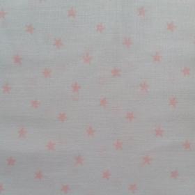 Tela de estrellas rosa pequeña