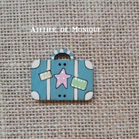 Botón Maleta(azul)