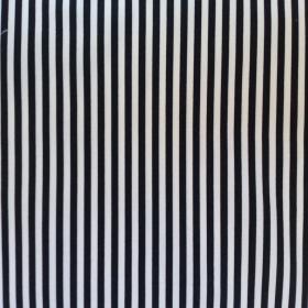 tela rayas blanco-negro
