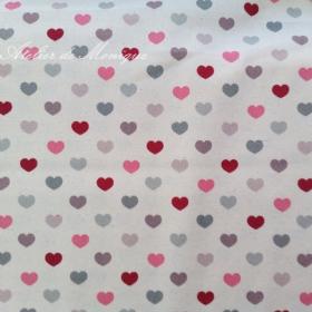 Tela de corazones