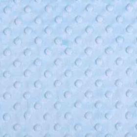 Tela minky color azul suave
