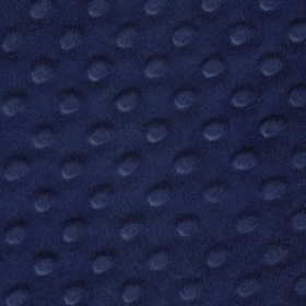 Tela Minky color azul marino