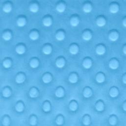 Tela minky color azul eléctrico