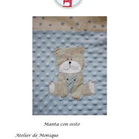 Manta osito (kit)