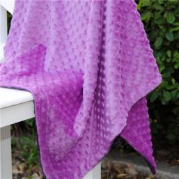 Tela minky color violeta