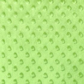 Tela Minky verde lima