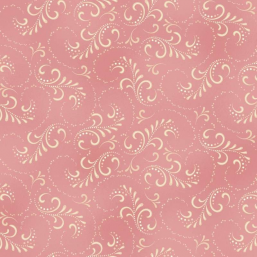 "Tela Swirlf color rosa ""Welcome Home Collection One"""