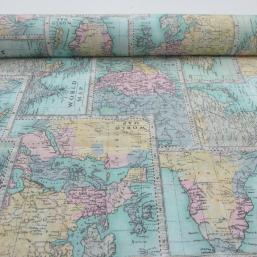 "Loneta ""World Map"""